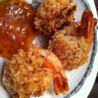 Baked Coconut Shrimp with Apricot Dipping Sauce