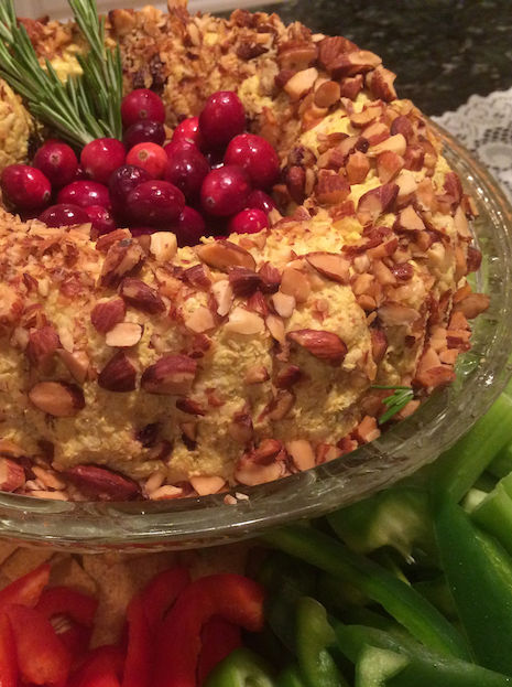 Curried Chicken Salad with Cranberries and Pineapple