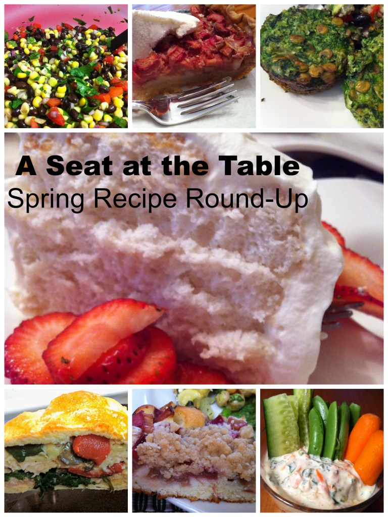 Spring 2014 Recipe Round Up (A Seat at the Table)