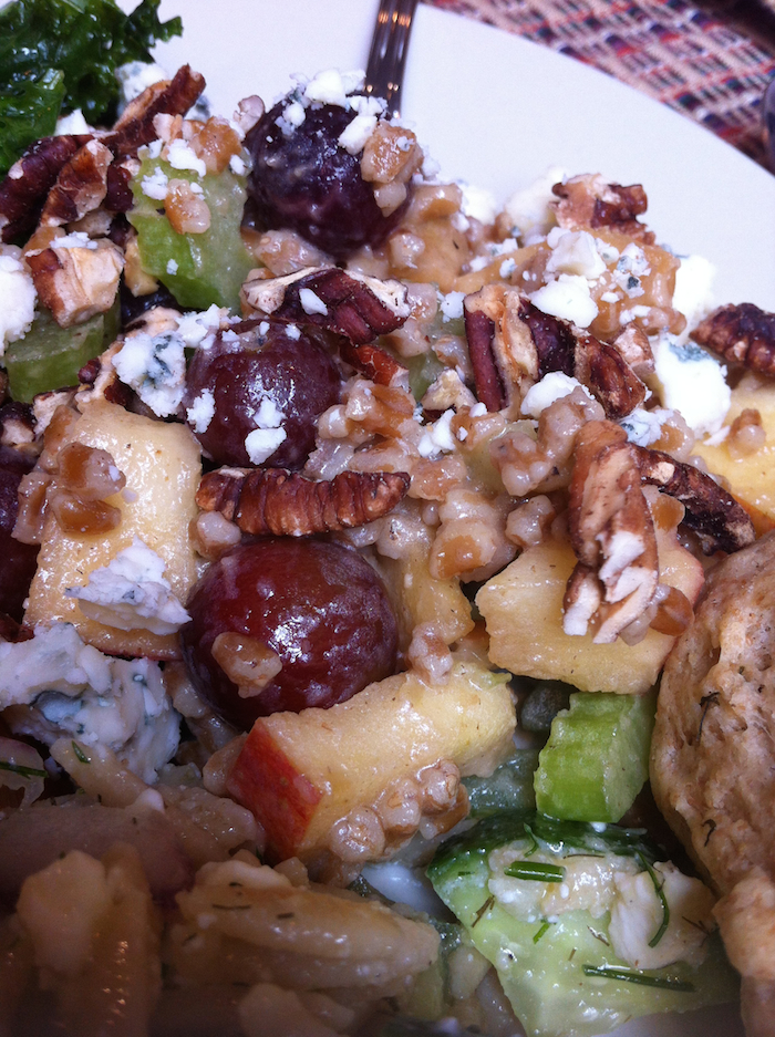 Wheat Berry Waldorf Salad (A Seat at the Table)