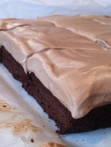 Nutella Espresso Mousse Brownies (A Seat at the Table)