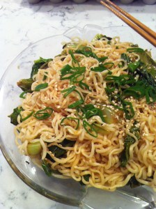 Sesame Noodles with Napa Cabbage (A Seat at the Table)