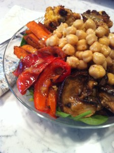 Moroccan Roasted Vegetable Salad (A Seat at the Table)