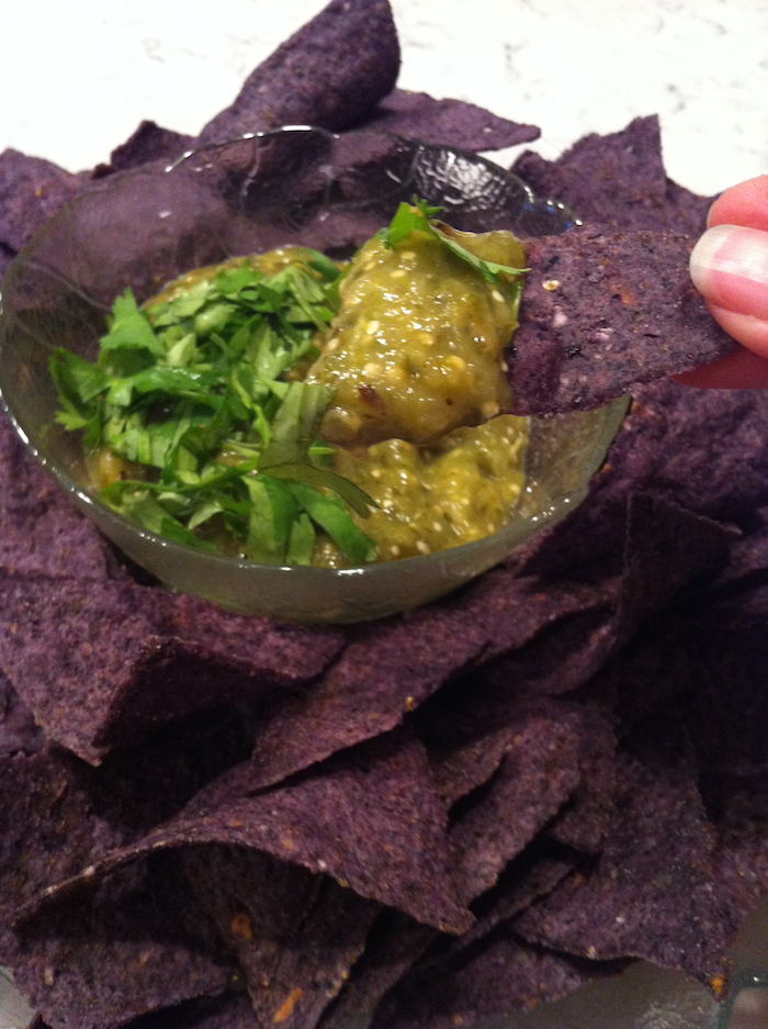 Tomatillo Salsa Verde (A Seat at the Table)