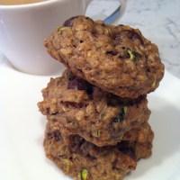 Zucchini Chocolate Chip Oatmeal Cookies