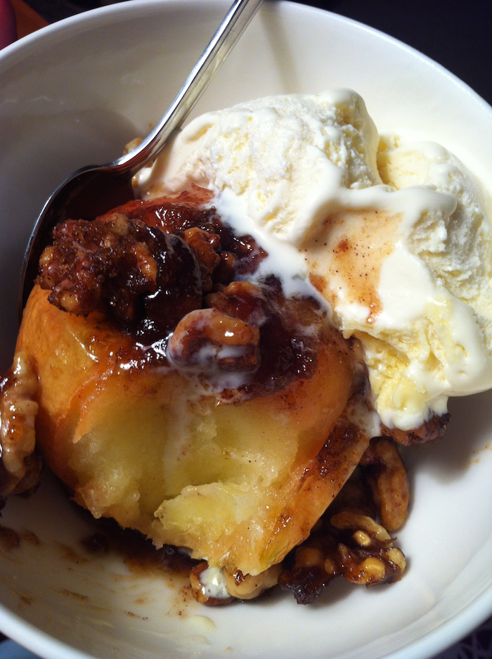 Cinnamon Walnut Baked Apples (A Seat at the Table)