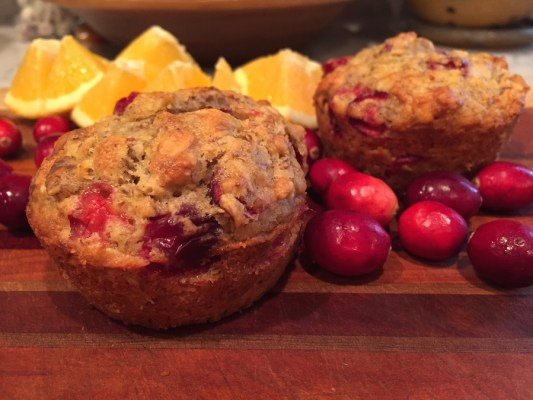 Cranberry Oat Muffins (A Seat at the Table)