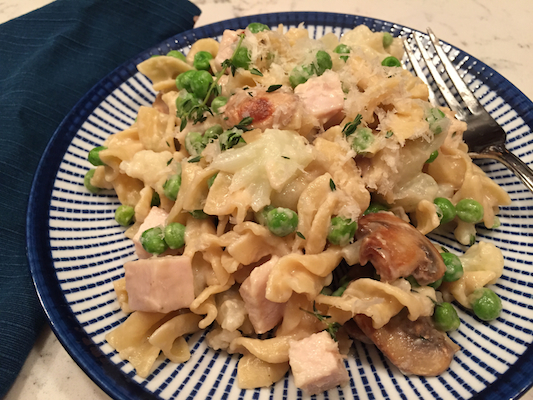 Turkey Tetrazzini (A Seat at the Table)