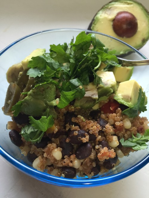 One-Pan Mexican Quinoa (A Seat at the Table)