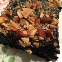 Toffee Almond Sea Salt Brownies