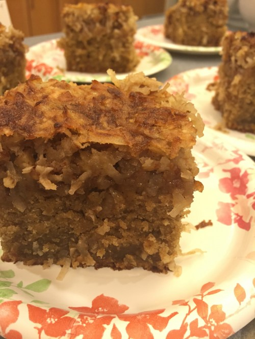 Coconut Pecan Oatmeal Cake (A Seat at the Table)
