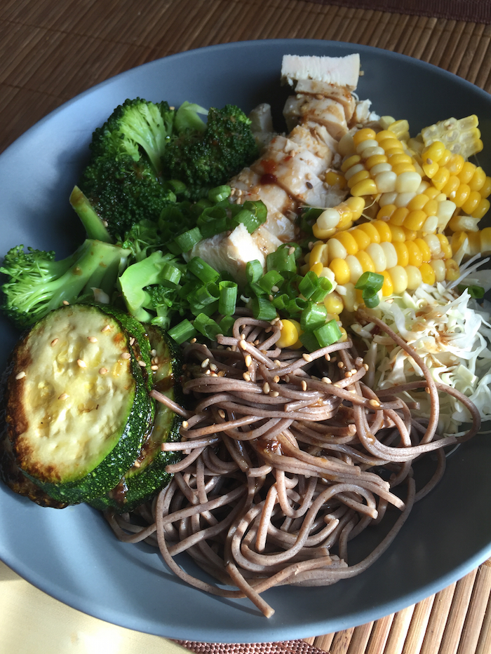 Soba Noodle Bowl with Sesame Ginger Dressing (A Seat at the Table)