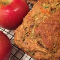 Zucchini, Carrot, Apple Bread
