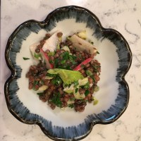 Apple Lentil Celery Salad