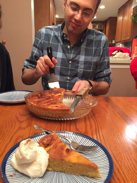 Chris's Sour Cream Pumpkin Pie (A Seat at the Table)