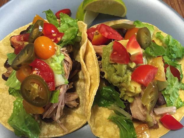 Slow Cooker Mojo Pork Tacos (A Seat at the Table)