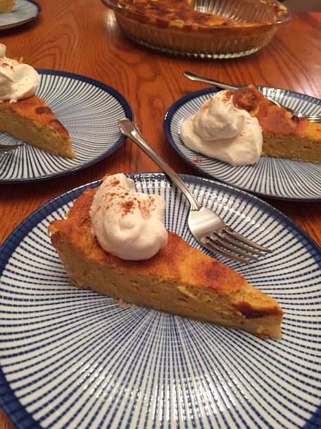 Sour Cream Pumpkin Pie (A Seat at the Table)