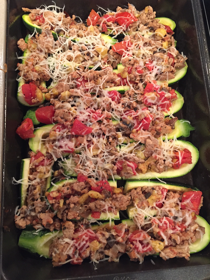 Italian Stuffed Zucchini (A Seat at the Table)