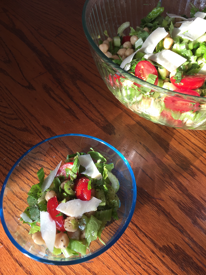 Marinated Celery and Chickpea Salad (A Seat at the Table)