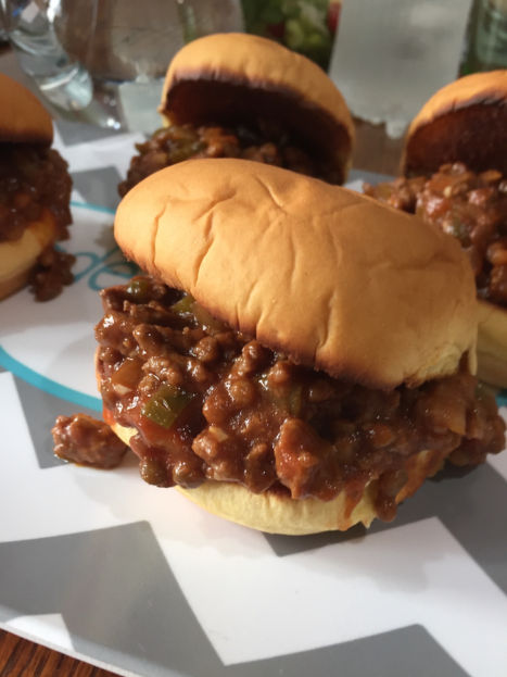 Sloppy Joes (A Seat at the Table)