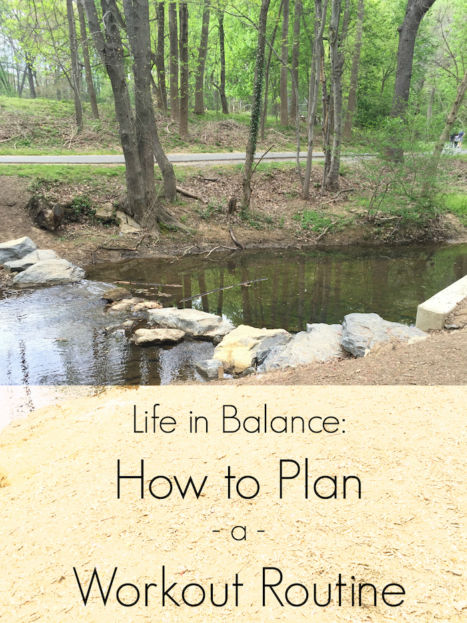 Life in Balance: How to Plan a Workout Routine (A Seat at the Table)