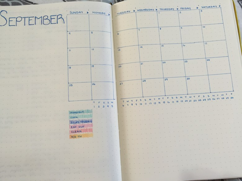 Monthly Habit Tracker (A Seat at the Table)