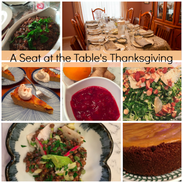 A Seat at the Table's Thanksgiving collage