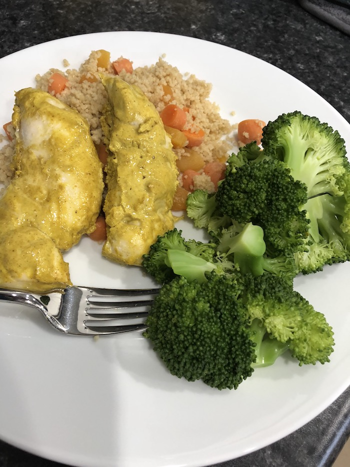 Curry Yogurt Chicken with Couscous (A Seat at the Table)