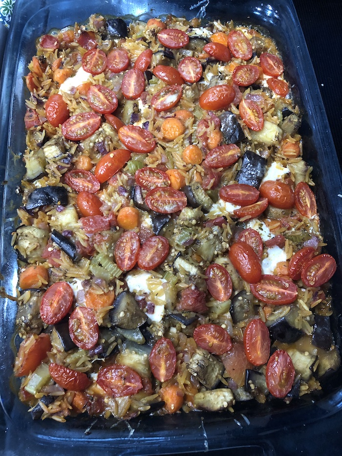 Baked Orzo with Eggplant (A Seat at the Table)