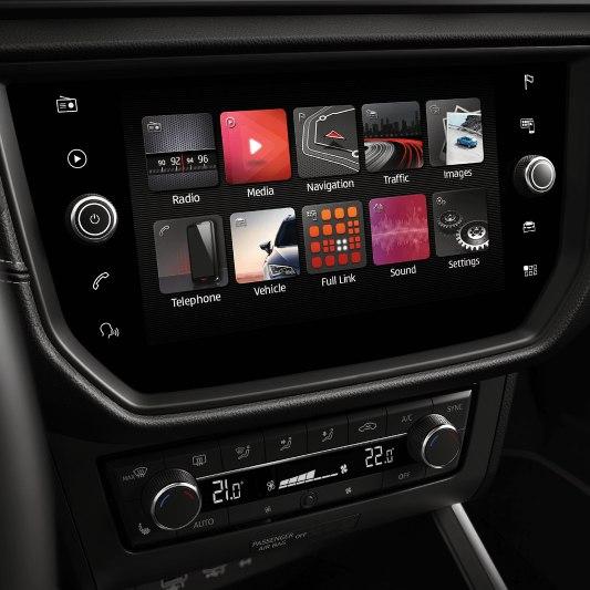 SEAT Arona interieur smart screen