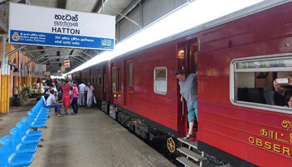 Train 1007 at Hatton