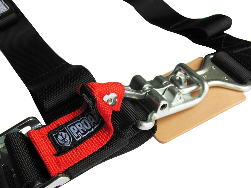 Pro Armor H Style 4 Point Harness 2 Wide Black