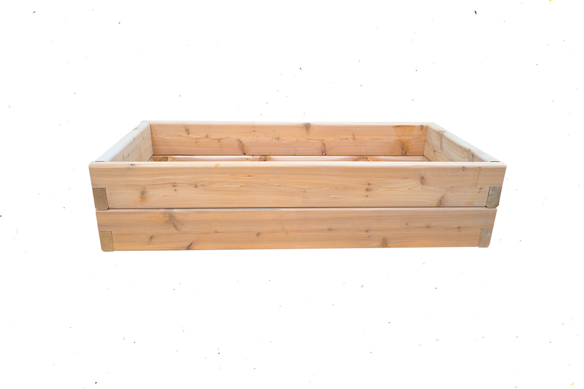 Wooden Garden Box 2 Tier
