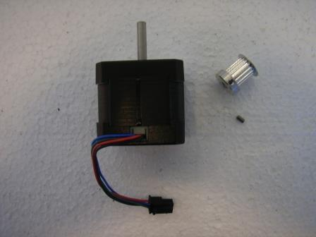 Elevation/Cross-elevation Motor - Kit