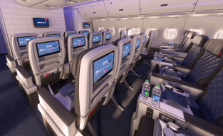 Check out the size of those IFE screens in Delta's new Premium Economy