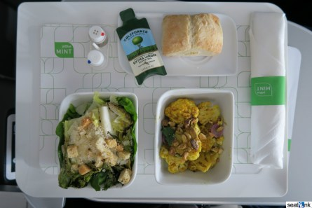 My tapas-style lunch in Mint class, which I actually enjoyed (some don't dig tapas-style)