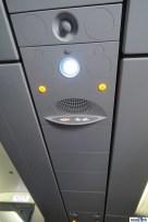 Single light, single air vent (gasper)