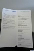 JetBlue Mint menu