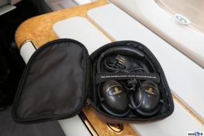 Emirates first class noise canceling headphones