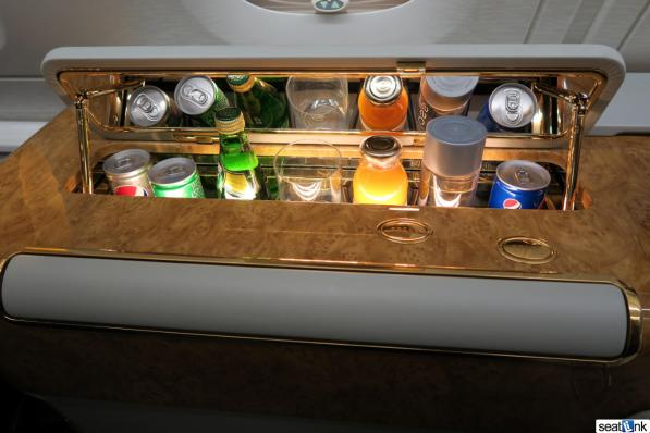You get your own personal bar on Emirates First
