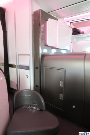 The view from seat 2A on Virgin's 787-9
