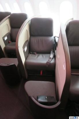 Seat 2A on Virgin Atlantic 787 Upper Class