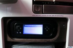 Upper Class IFE remote control