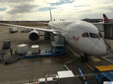 """Virgin Atlantic 787-9, """"West End Girl"""""""