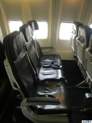 Alaska Airlines economy seats