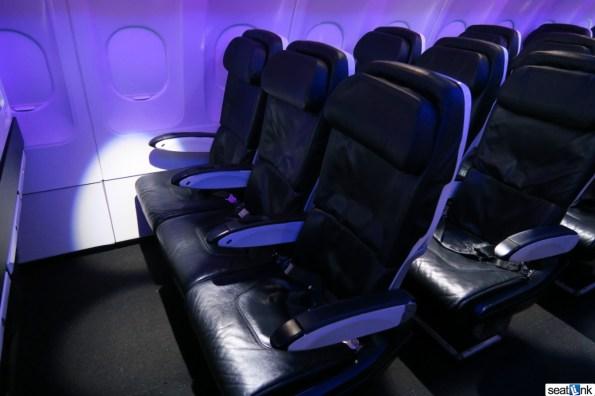 Virgin America economy seats