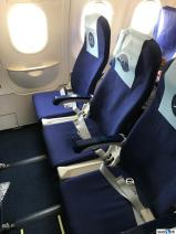 My seat(s) for the flight - row 13 on IndiGo A320