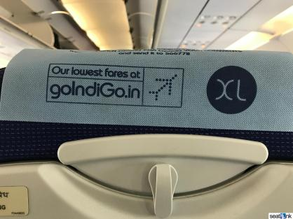 Branding - and upsell opp for those seated in rows 2 and 14??