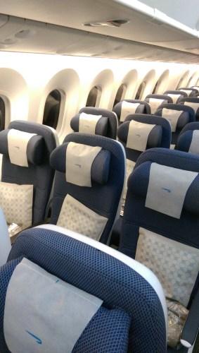 BA 787-9 Economy Seats