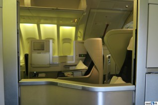 British Airways Business Class Review 747-400 Upper Deck 06